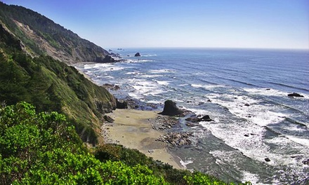 2-Night Stay for Five in a Campsite, RV Site, or Cabin at Redwoods RV Resort in Crescent City, CA