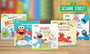 38% Off Personalized Sesame Street Kids Books