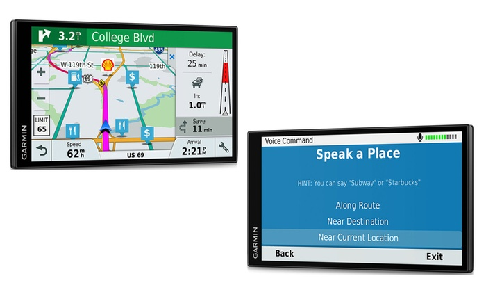 Garmin Drivesmart 61 LMT North American Maps with Smart