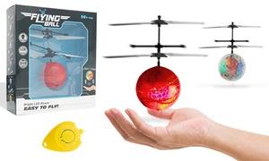 Balle volante à éclairage LED