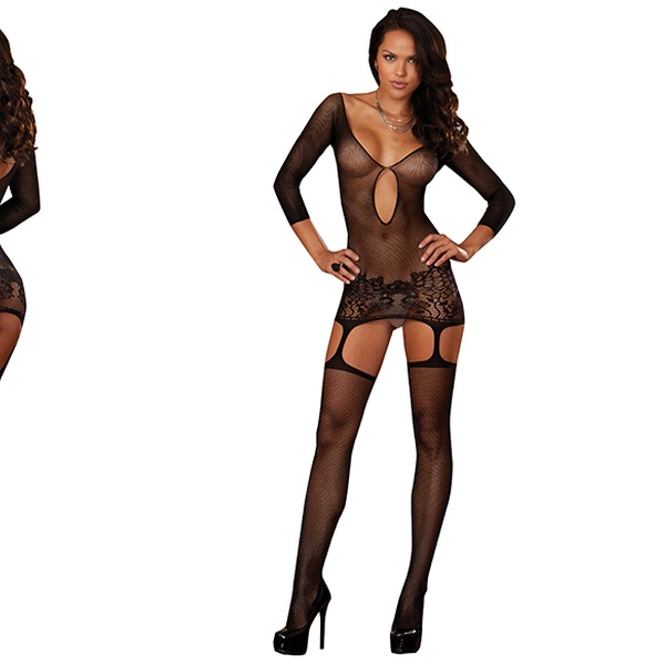 faac0d4c764 Dreamgirl Garter Dresses and Bodystockings