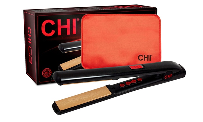 Save 56% on CHI G2 1'' Ceramic and Titanium Flat Iron