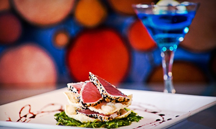 Blue Dining - Allison Park: $25 for $50 Worth of Seafood and American Cuisine at Blue Dining