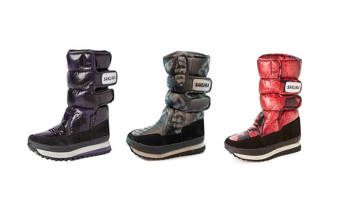Sakura Ladies' Active Snow Boots