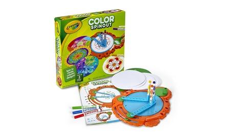 Crayola Colour Spinout Art Activity Set