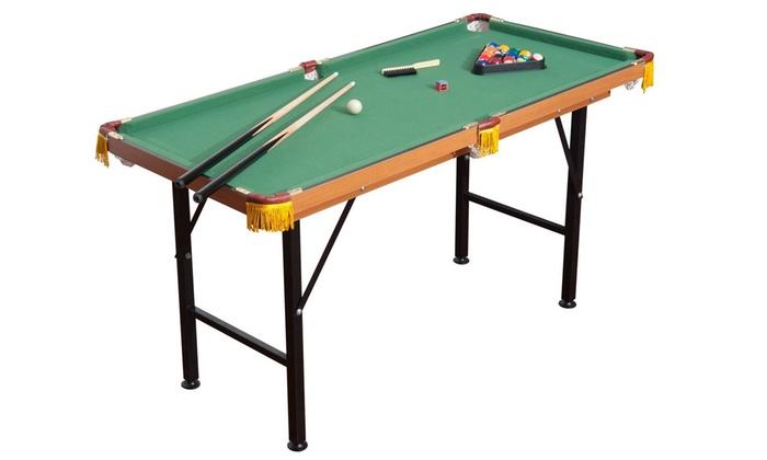 Mini Billiard/Pool Table Set (26-Piece) ...  sc 1 st  Groupon & Mini Billiard/Pool Table Set (26-Piece) | Groupon