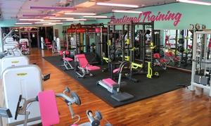 Pink Frauen Fitness: 1, 2 od. 3 Monate Fitness für Damen mit Solarium-Flatrate und Anmeldegebühr bei Pink Frauen Fitness (bis zu 85% sparen*)