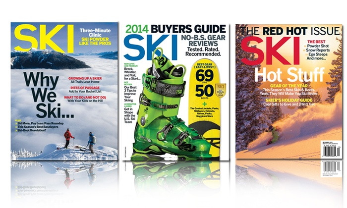 1-Year Subscription to Ski Magazine: 1-Year, 6-Issue Subscription to Ski Magazine