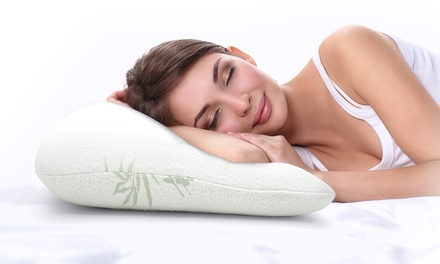 Memory Foam Pillow with Bamboo Cover: One ($29), Two ($39) or Four ($69)