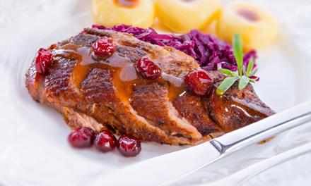4-Gänge-Candle-Light-Dinner inklusive Getränken für Zwei im Restaurant Waldhotel Silbermühle (34% sparen*)
