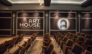 Up to 30% Off Arthouse Cinema at Art House Cinema & Pub at Art House Cinema & Pub, plus 6.0% Cash Back from Ebates.