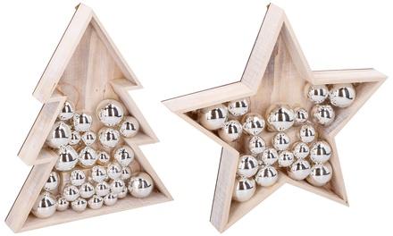 Luci decorative Grundig in legno
