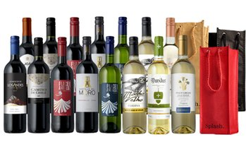 Up to 81% Off 15-Bottle Curated Wine Packs with Gift Bags