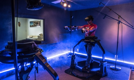 One 30-Minute Fully Immersive Omni Game Play for One or Two People at Solara-Tec (Up to 54% Off)