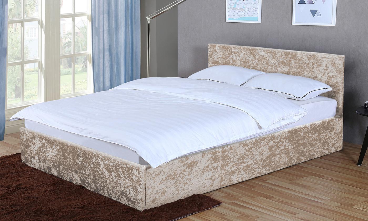 Veronica Ottoman Fabric Bedframe