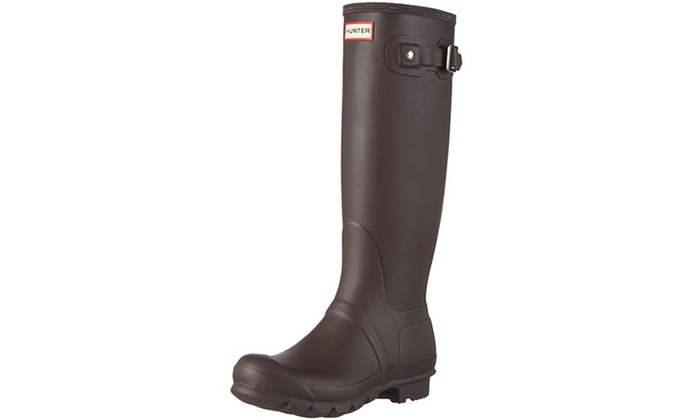 Hunter Womens' Rain Boots (Size 5) | Groupon