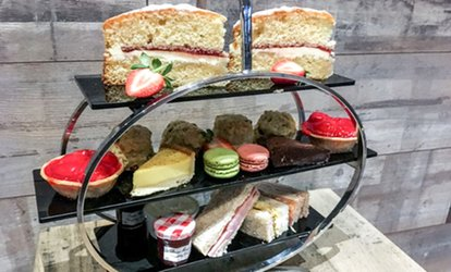 image for Afternoon Tea with Optional Prosecco for Two or Four at The Soap Factory at The Novotel Hotel Leeds