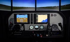 IBEX: Symulator lotu GA Pro C182T: 20 minut (99,99 zł) lub 60 minut (249,99 zł) z firmą IBEX