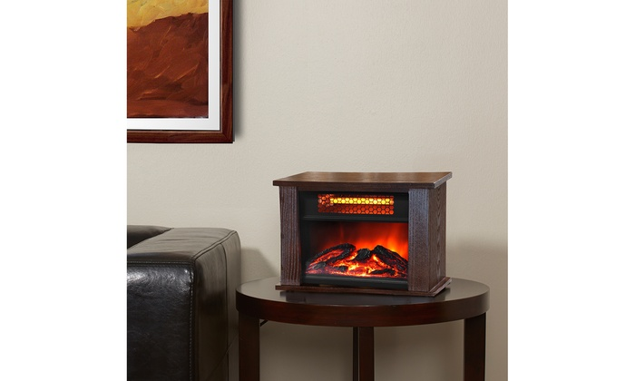 Mini Portable Fireplace | Groupon Goods