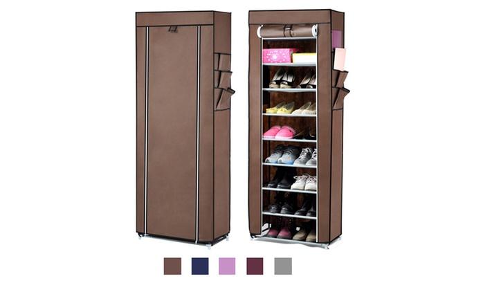 Nine-Tier Shoe Storage Rack for R279 Including Delivery (30% Off)