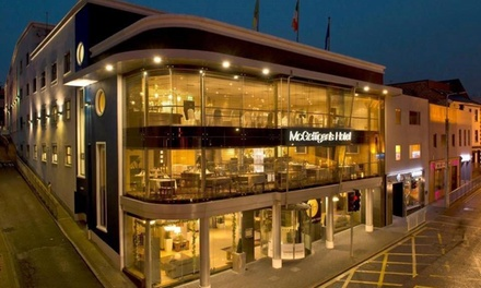 Co. Donegal: 2 Nights for Two with Wine and Late CheckOut at McGettigans Hotel