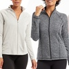 Bally Fitness Women's Warm and Cozy Zip-Front Jacket
