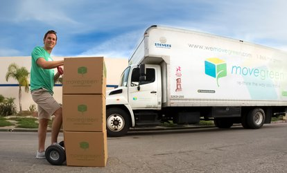 Two or Three Hours of Moving with Two Movers and One Truck from Movegreen (Up to 58% Off)