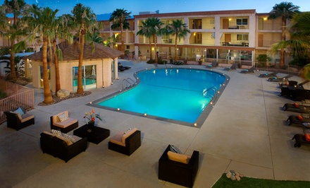 1- or 2-Night Stay for 2 with Spa Credits at Aqua Soleil Hotel & Mineral Water Spa Near Palm Springs
