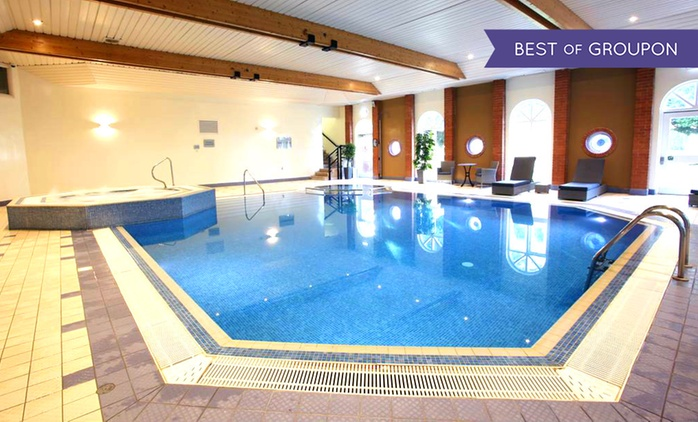 Surrey: 1 or 2 Nights for Two with Two-Course Dinner and Health Club Access at Hogs Back Hotel & Spa Farnham
