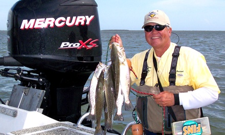 $349 for a Fishing Excursion for Three from Doublesteal Fishing Guide Service ($550 Value)