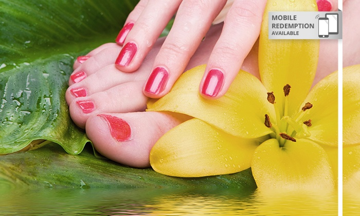 BSK3 Hair Design - Parramatta: $19 Gel Polish  Manicure, $29 to Add a Pedicure or $35 with a Hand and Foot Massage at BSK3 Hair Design (Up to $105 Value)