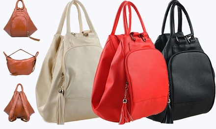 $25 for a ThreeWay Shoulder Backpack Bag Don't Pay $69.95