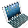 Zagg Backlit Bluetooth White Keyboard Cover for iPad mini/2/3