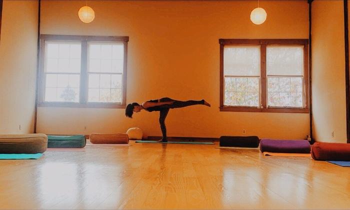 Berkeley Yoga Center with Julie Tran - Berkeley Yoga Center with Julie Tran: Five 75-Minute Vinyasa Yoga Classes from Berkeley Yoga Center with Julie Tran (69% Off)