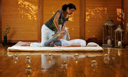 Traditional <strong>Thai Massage</strong> with Optional Compress Balls at King <strong>Thai Massage</strong> Health Care Centre (Up to 40% Off)