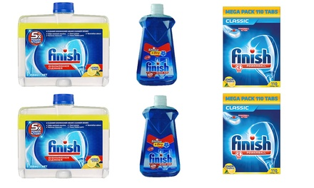 $54 for a Finish Lemon Dishwashing Bundle Don't Pay $108.50