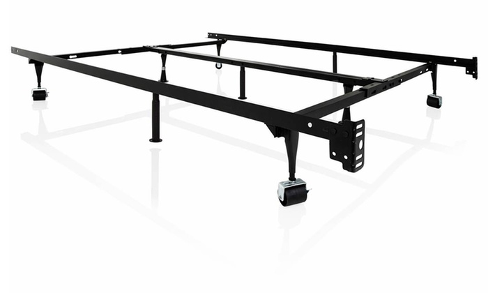 Structures universal adjustable bed frame groupon for Bed frame deals