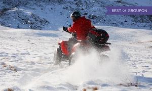 World on Wheels: Winter-Quad-Tour für 1 oder 2 Personen mit World on Wheels (bis zu 57% sparen*)