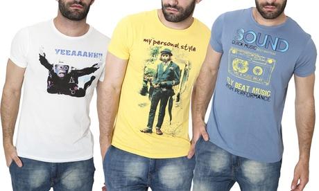 T-Shirt Smiling London da uomo disponibili in 4 modelli e vari colori...