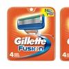 Gillette Fusion Razor Cartridges (4- or 8-Pack)