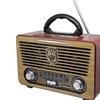 Radio multibanda con diseño retro