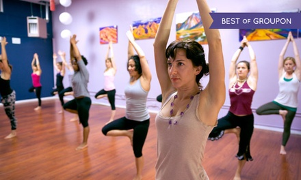 Up to 76% Off Yoga and Dance Classes at Purusha Yoga