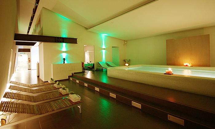 Equilibrio - Equilibrio: Percorso spa di coppia senza limiti di tempo con sauna, bagno turco e massaggio da 49 €