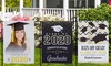 Up to 72% Off Personalized Graduation Garden Flags