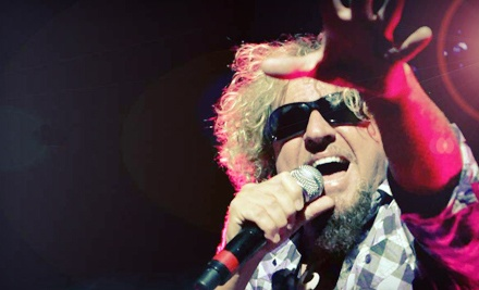 $22 for Presale Ticket to Sammy Hagar at Molson Canadian Amphitheatre on August 27 at 8 p.m. (Up...