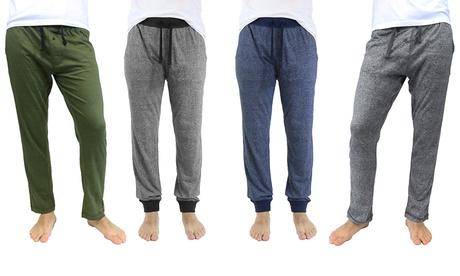 Galaxy by Harvic Men's Marled Lounge Pajama Joggers