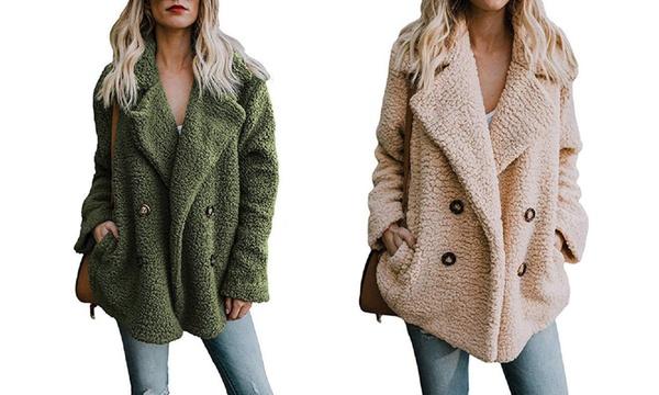 1 ou 2 manteaux doux en polaire Tica pour femme