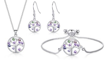 Philip Jones Chakra Jewellery with Crystals from Swarovski®