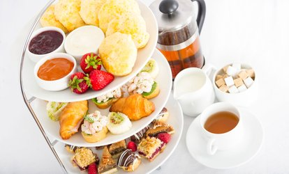 image for Traditional or Sparkling Afternoon Tea with Leisure Access for Two or Four at Daresbury Park Hotel and Spa