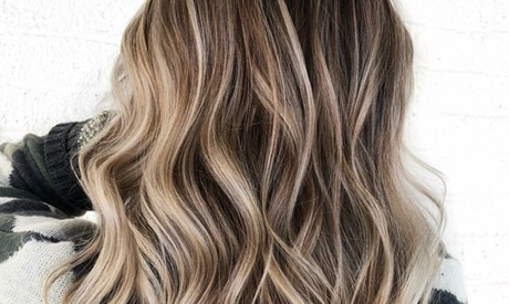 Deep Conditioning with Blowout or Haircut and Balayage at Capelli Salon and Spa (Up to 59% Off)